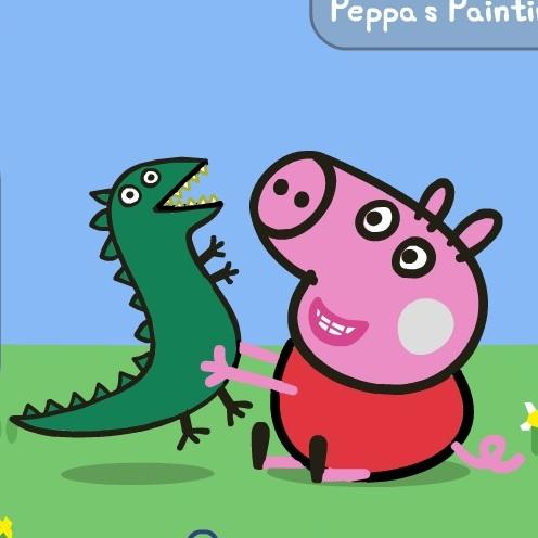 Свинка Пеппа раскраска - Свинка Пеппа