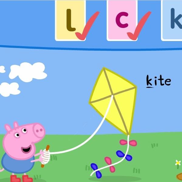 Свинка Пеппа изучаем буквы