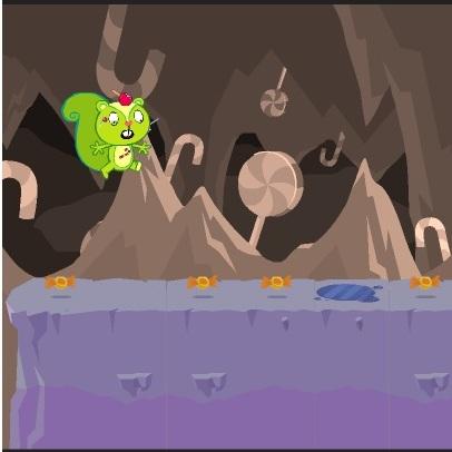 Хэппи Френдс пещера конфет