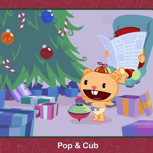 Хэппи Френдс: Рождественские подарки