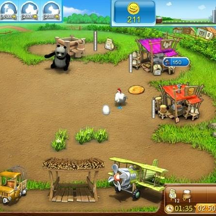 Привлекательная ферма - Весёлая ферма