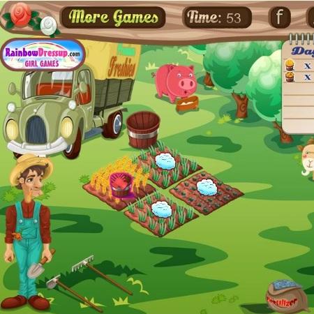 Сбор урожая на ферме