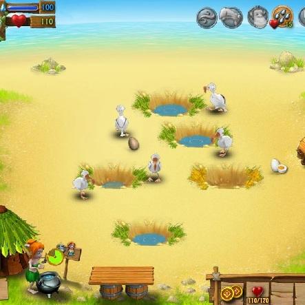 Ферма на необитаемом острове - Весёлая ферма