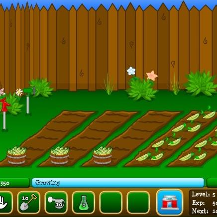 Огород на ферме - Весёлая ферма