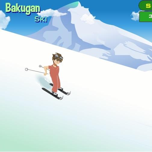 Бакуган горнолыжник