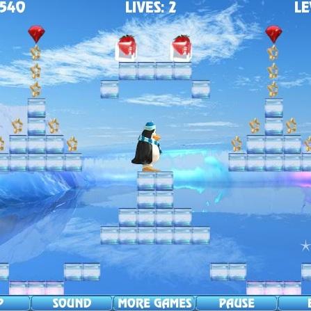 Замороженые фрукты Пингвина