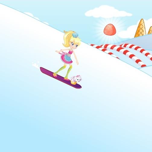 Мир Полли сноуборд