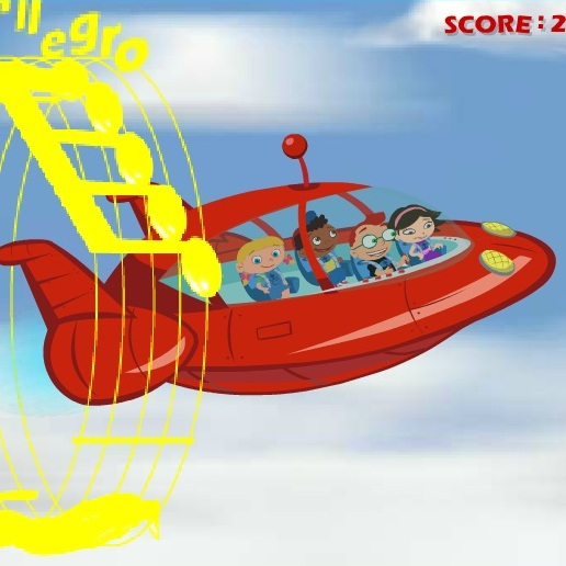Маленькие Эйнштейны музыка в полёте