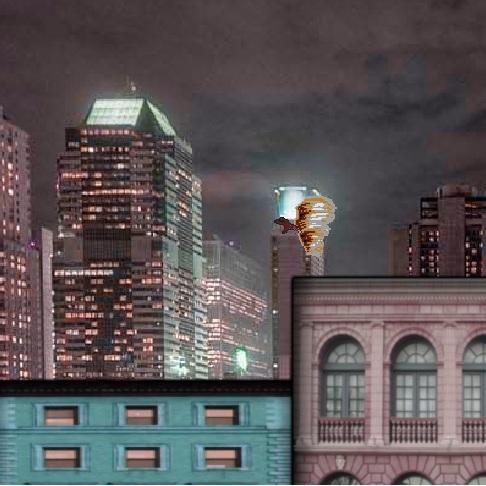 Весёлые мелодии: Таз в городе