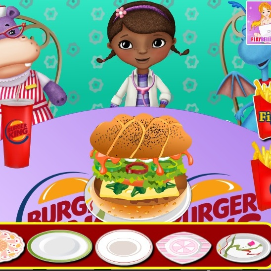 Гамбургер для Доктора Плюшевой