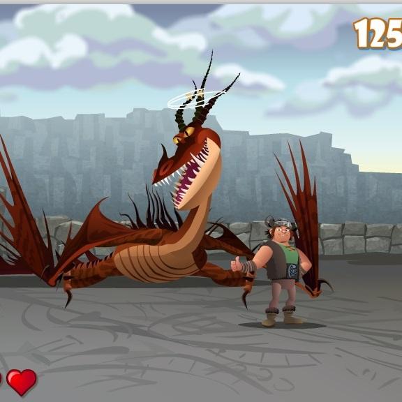 Как приучить дракона Ужасное Чудовище