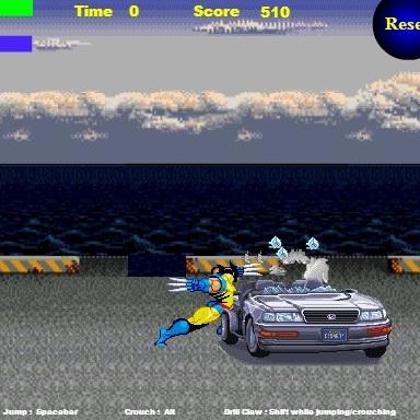 Росомаха: уничтожение автомобилей