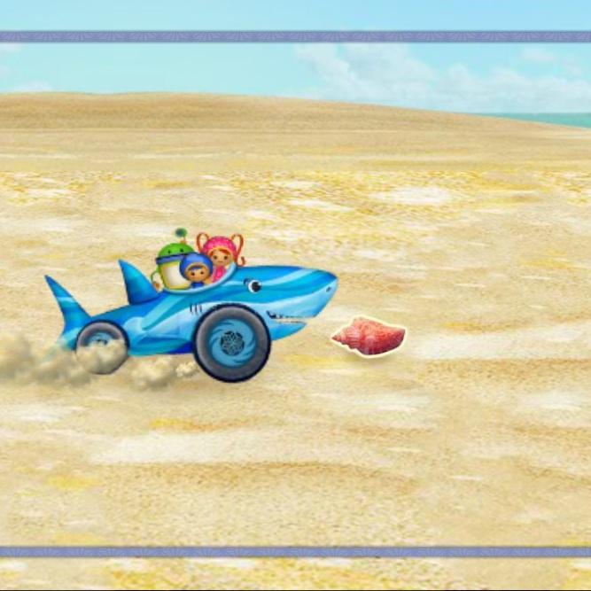 Умизуми гонки на пляже