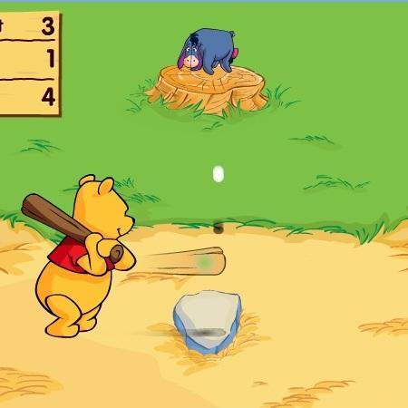 Винни Пух бейсболист