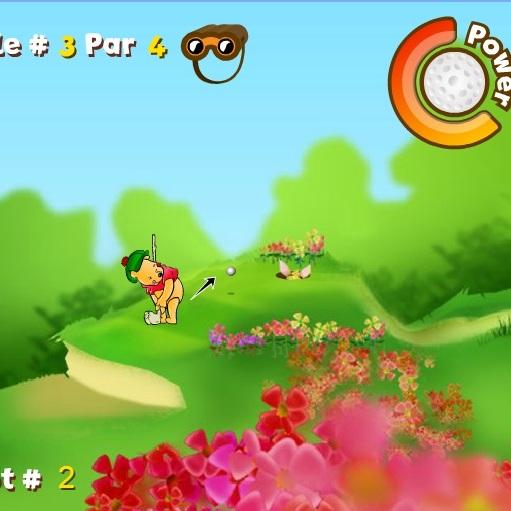 Винни Пух гольфист