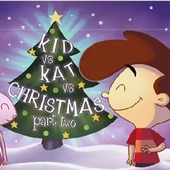 Кид против Кэт плитки рождества