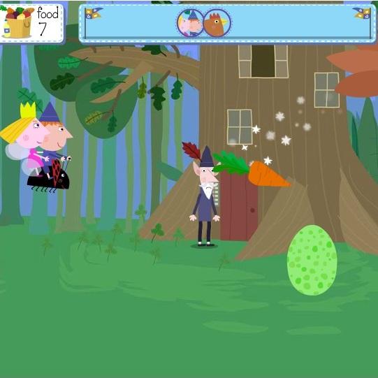 Маленькое королевство Бена и Холли берегись яиц