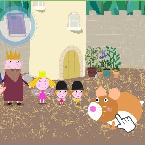 Меленькое королевство Бена и Холли счасливый хомячок