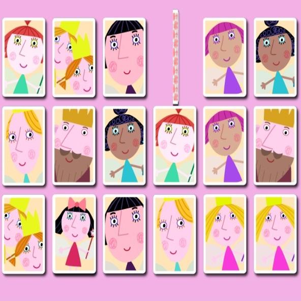 Маленькое королевство Бена и Холли карточки памяти