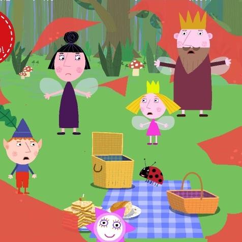 Маленькое королевство Бена и Холли спасите пикник
