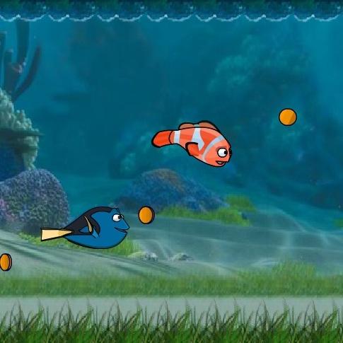 Немо подводная гонка