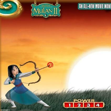 Стрельба из лука Мулан - Мулан