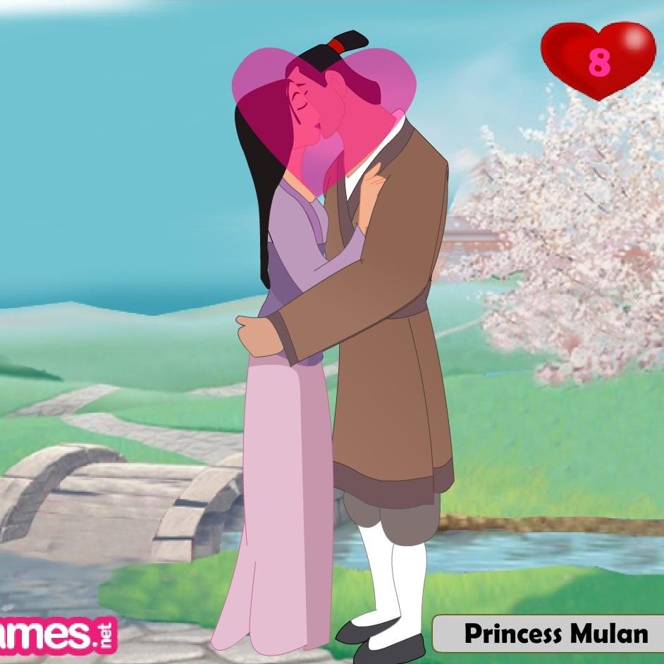 Мулан поцелуи с Принцом