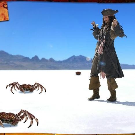 Пираты Карибского моря: Нападение крабов