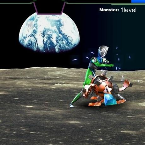 Ультрамен сражение на Луне