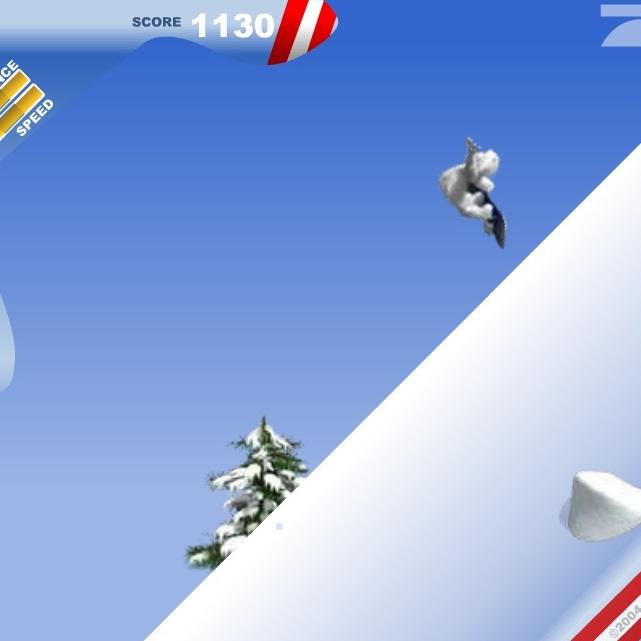 Йети сноубордист