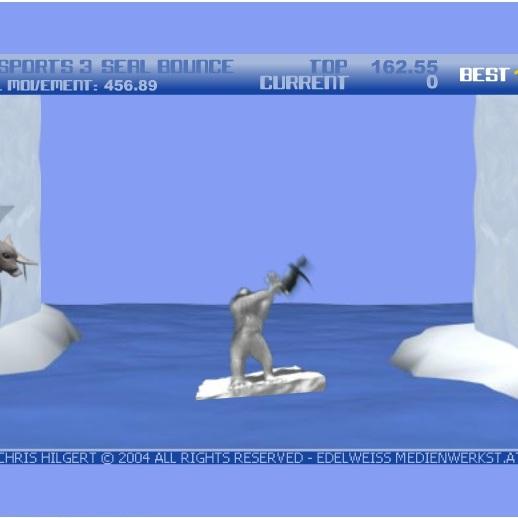 Йети: метание пингвинов