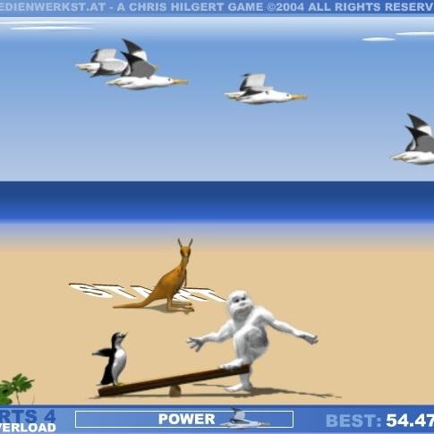 Йети на Австралийском пляже