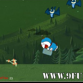 Дораэмон ловит светлячков