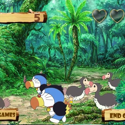 Дораэмон охота в джунглях