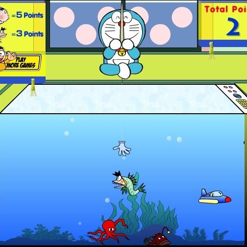 Дораэмон рыбак
