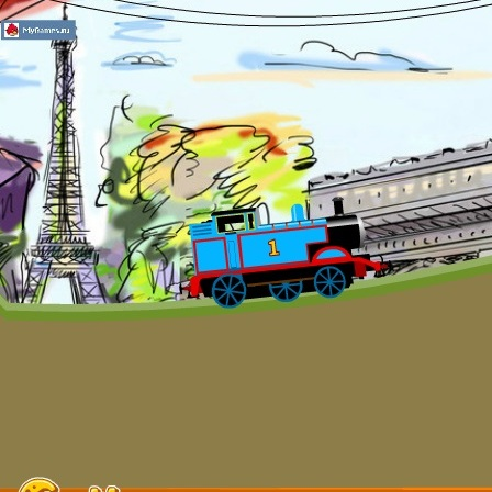 Паровозик Томас в Франции