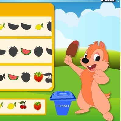 Чип и Дейл обожают фрукты