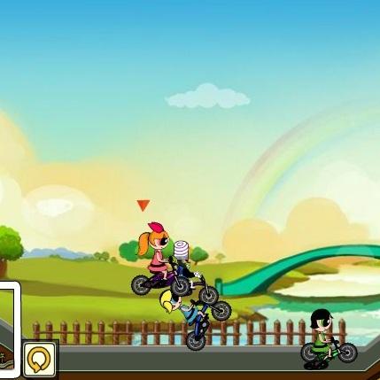 Крутые девчонки велогонка