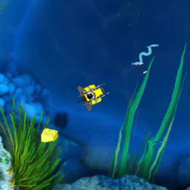 Лего аквалангист