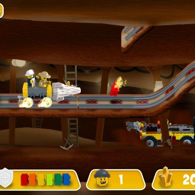 Лего Золото добыча