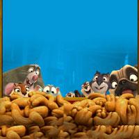 Реальная белка поиск орешков