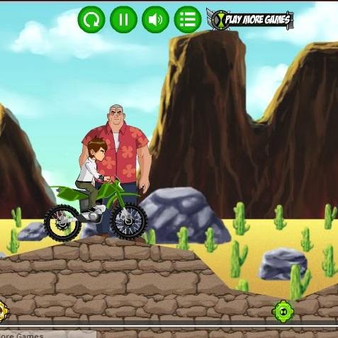 Бен 10 миссии на мотоцикле