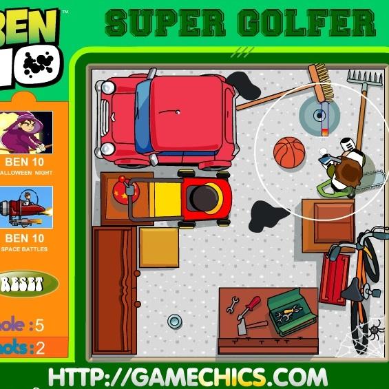 Супер гольф Бена 10