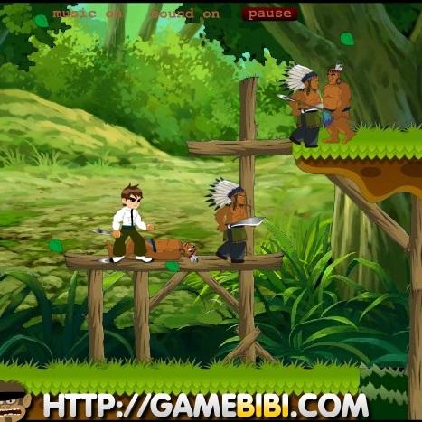 Бен 10 приключения в джунглях