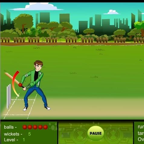 Бен 10 чемпион крикета