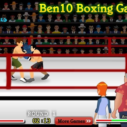 Бен 10 боксер