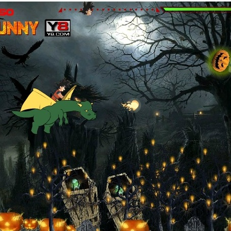 Жемчуг дракона хэллоуин