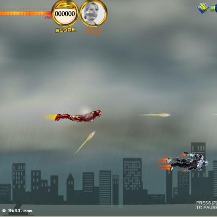 Воздушное сражение Железного человека