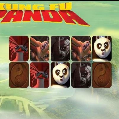 Кунг-фу Панда подбери пару