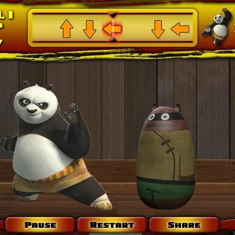 Кунг-фу Панда ударь тренировочный маникен